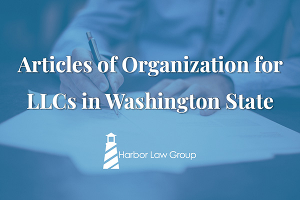 articles of organization llc washington state